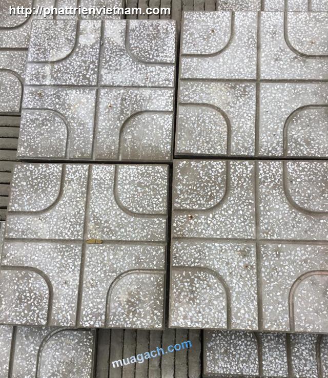 Gạch đá mài terrazzo, gạch vỉa hè, gạch lát sân, gạch lót ngoài trời, gạch đá hè đường, gạch tê ra dô, gạch terazo, gạch sân