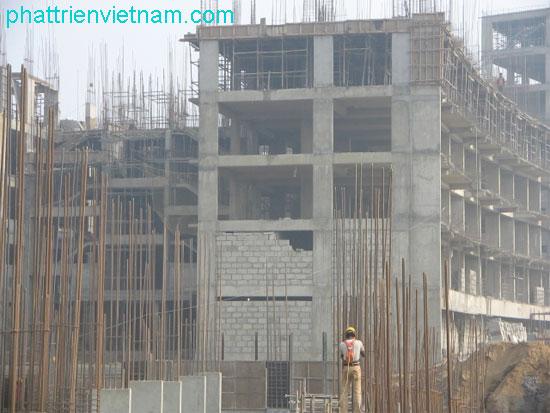 Công trình xây gạch không nung - Gạch block xây tường