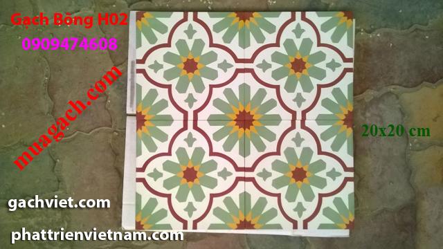 Gạch bông, gach bong, gạch hoa, gạch hoa, gạch lót nền, gạch lót sàn, gạch lát H11