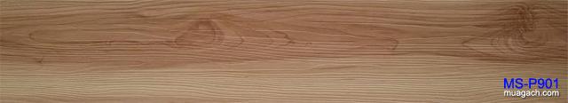 Gạch nhựa giả gỗ trơn cao cấp không gân - Sàn gỗ công nghiệp nhựa pvc vân gỗ